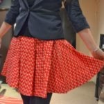 Emily and Fin Carrie Skirt Cherry Print