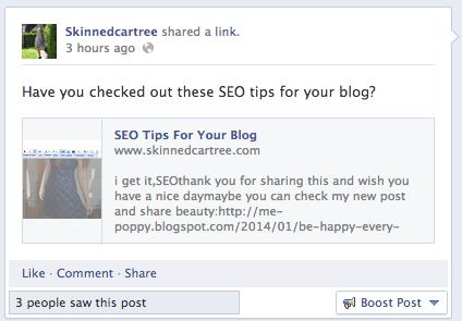 embedded link facebook