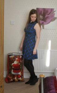 tesco tartan dress