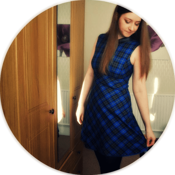 perfect tartan dress