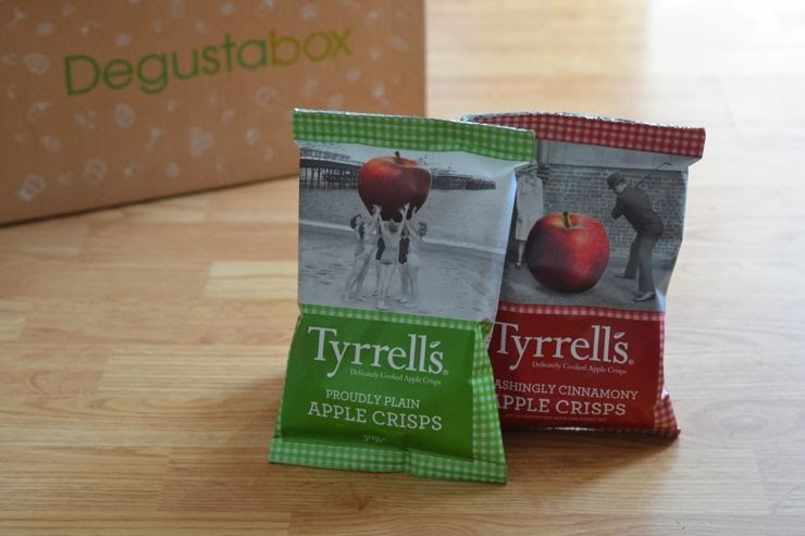 tyrrells, apple crisps