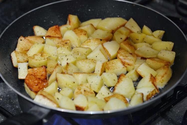 sautee potatoes