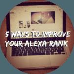 5 Tips to Improve Alexa Rank