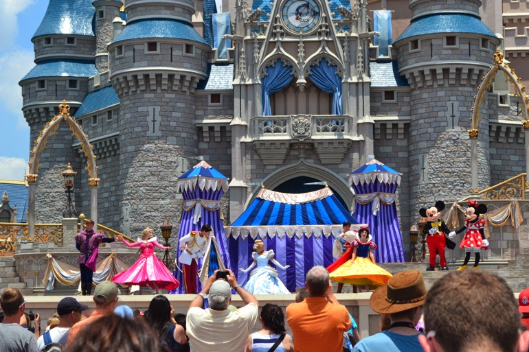 magic kingdom show