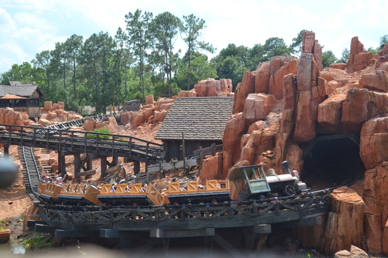 magic kingdom rail road