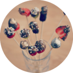 Party Food Ideas: Fruit Dipped in Chocolate
