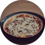 Wrap Pizza with Wholemeal Tortilla