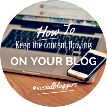 how to keep the content flowing