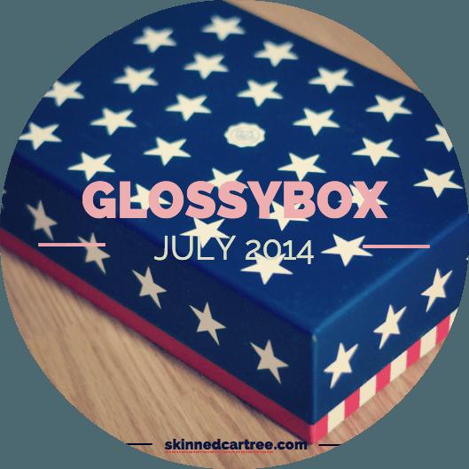 glossybox july 2014