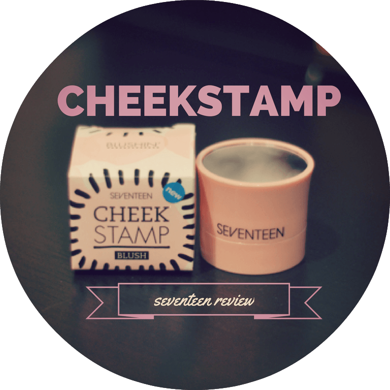 seventeen cheek stamp blush review