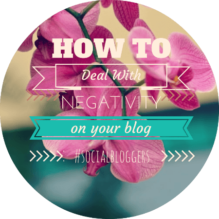 dealing with negative blog comments