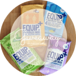 Equip+ Waterless Wash Wipes // Giveaway.