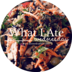 What I Ate Wednesday // 3