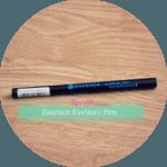 Essence Waterproof Eyeliner Pen. Woo.