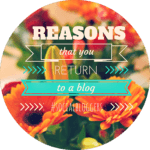 #socialbloggers 26 – Reasons You Return To a Blog