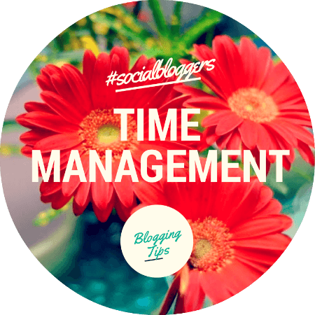 #socialbloggers 25 // Blogging and Time Management