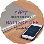 8 Ways to Boost your iPhone's Battery Life