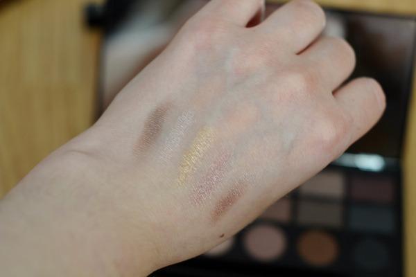 makeup revolution salvation palette swatch