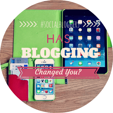 does blogging change you