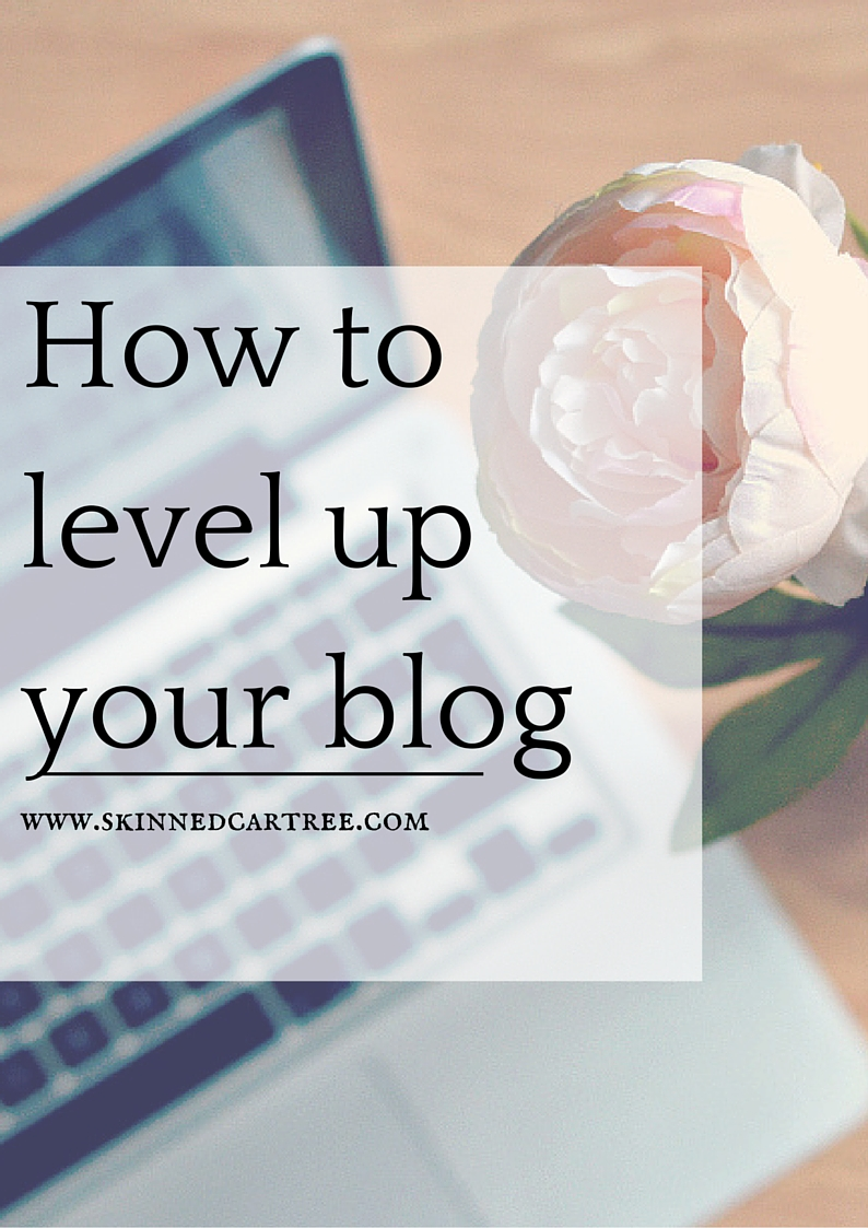level up your blog