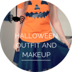 Halloween OOTD and FOTD!