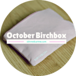 October Birchbox // Work it!
