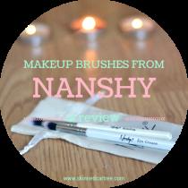 nanshy makeup brushes review