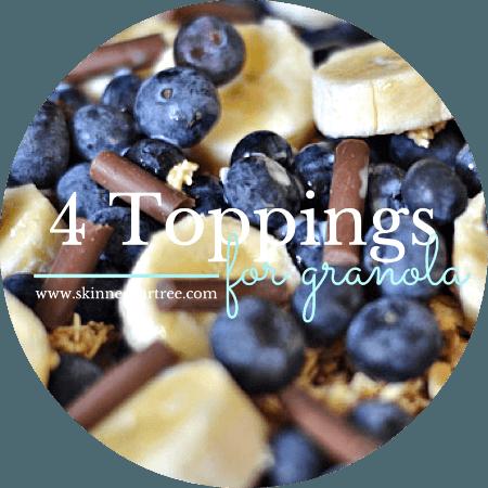 granola toppings
