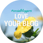 #socialbloggers 33 – Why you should love your blog.