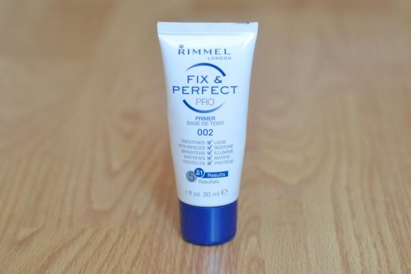 Rimmel fix and perfect primer