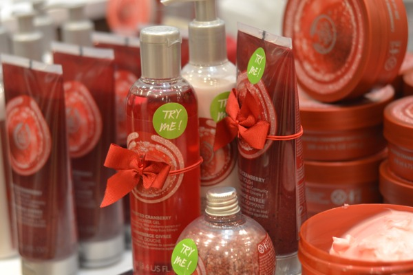 Frosted Cranberry bodyshop