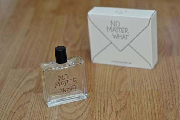 no matter what perfume