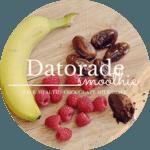 Datorade // A chocolate milkshake alternative