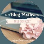 Blogging Myths // True or False?