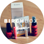 Birchbox November // Give me back my information.