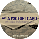 Win a £30 House Of Fraser Gift Card for Cyber Monday