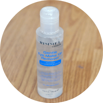 rimmel gentle eye makeup remover review