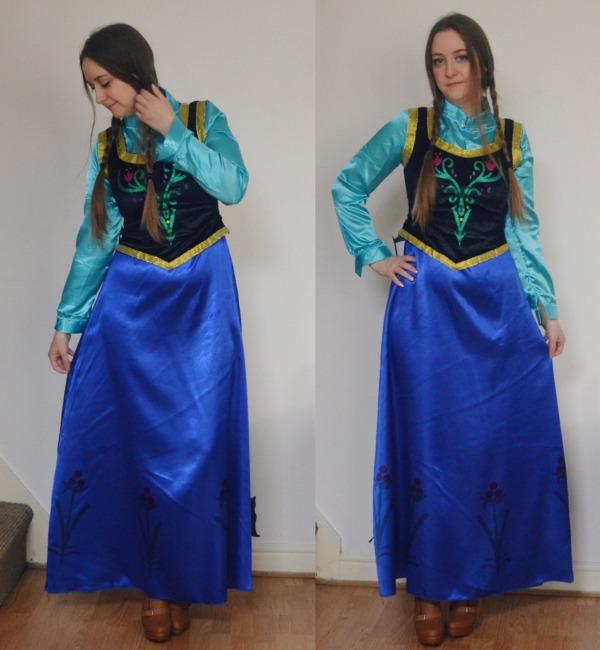 anna frozen makeup costume