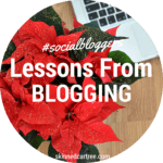 #socialbloggers 42 // 10 things I've learnt through blogging