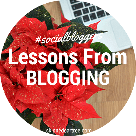 things leant from blogging