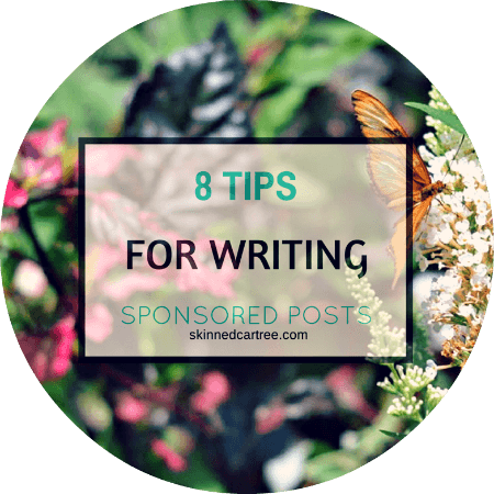 8 quick tips for writing sponsored posts