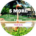 5 more things that make me leave your blog