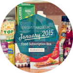 January Degustabox 2015 // The Healthy Box