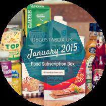 degustabox january 2015