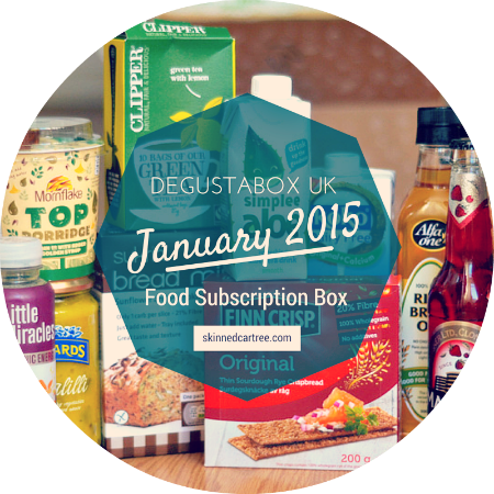 degustabox january 2015
