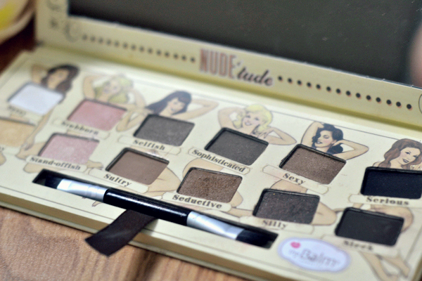 nude tude palette review