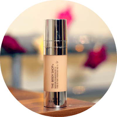 The Body Shop Moisture Foundation review