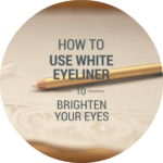 How to apply white eyeliner