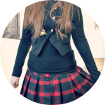 #OOTD tartan skirt // Let's talk finance