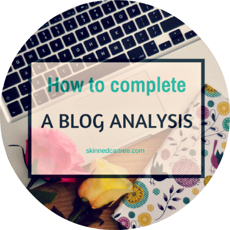 Learn from others // Blog Analysis